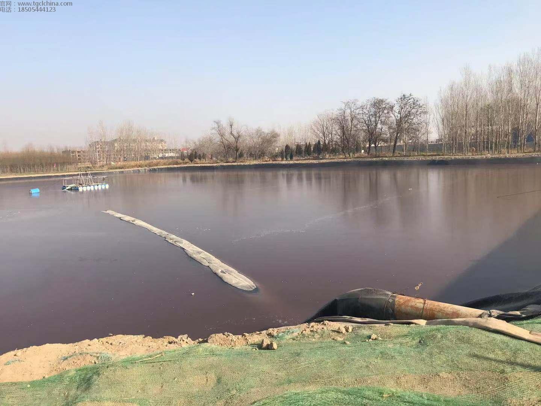 河北皮草污染坑塘防渗膜高密度聚乙烯土工膜污水池工程