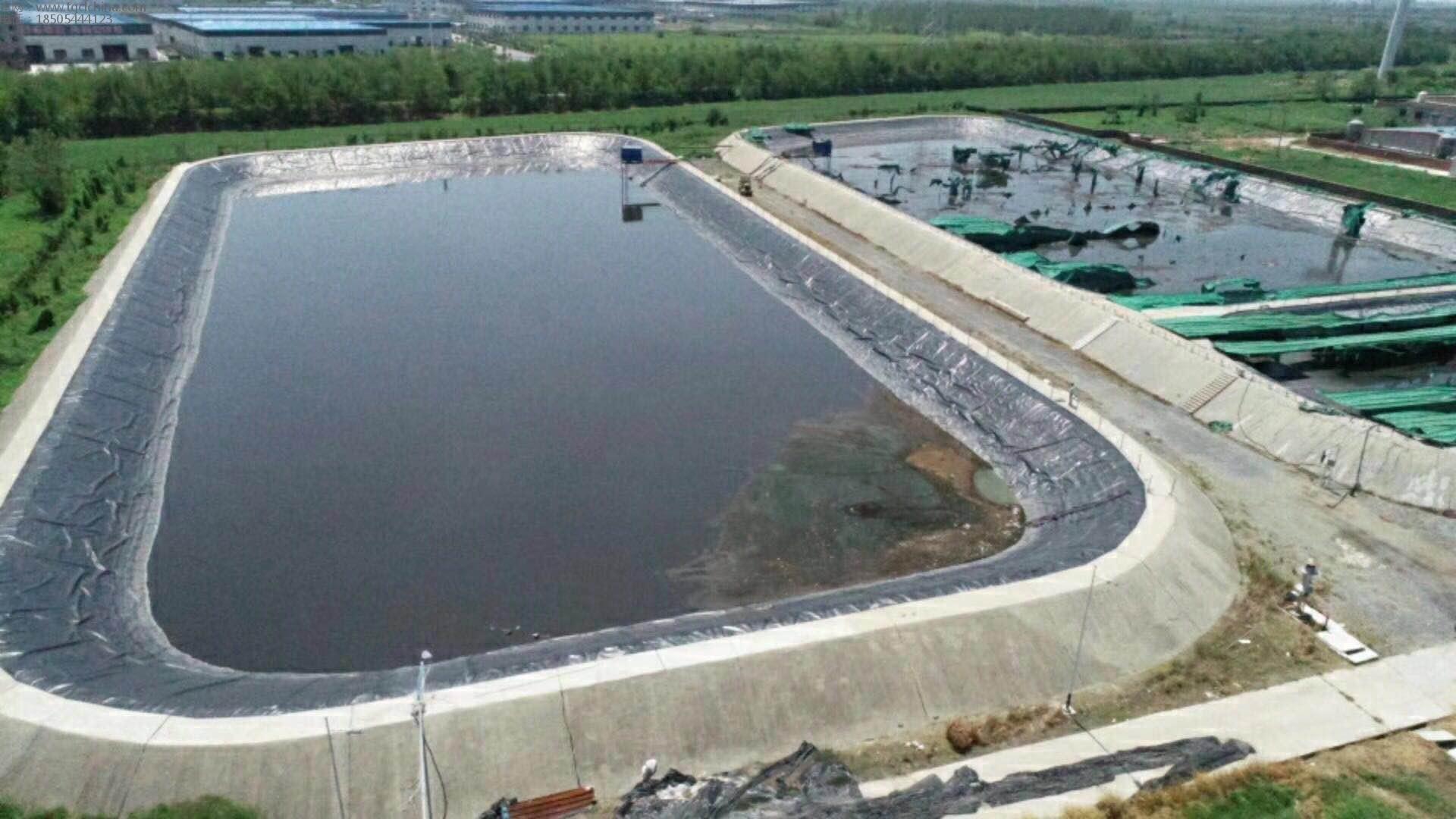 防渗膜土工膜用于固体废弃物填埋场,每层5万多平,共计27万多平,竣工!