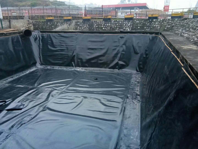 浙江小型蓄水池施工,采用1.0mm土工膜防渗