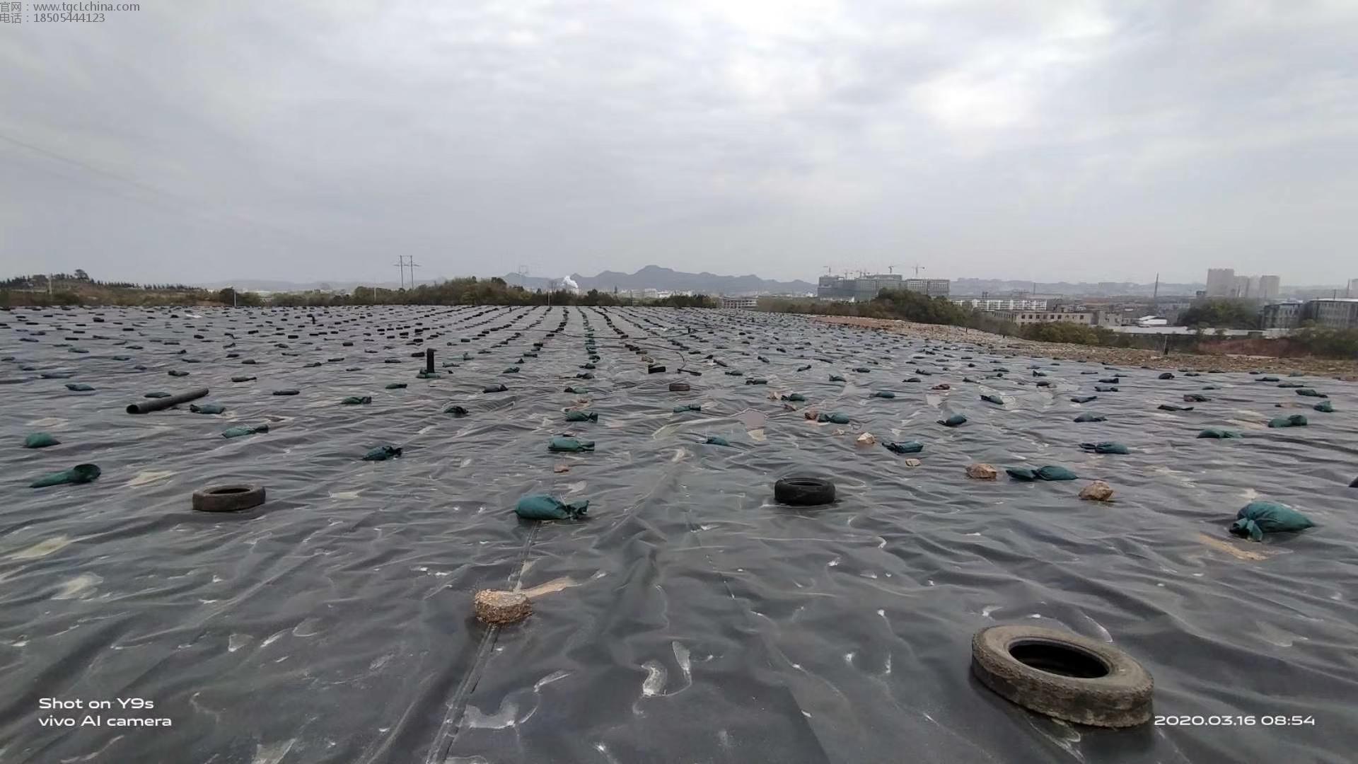 垃圾场覆盖使用1.0mm城建土工膜